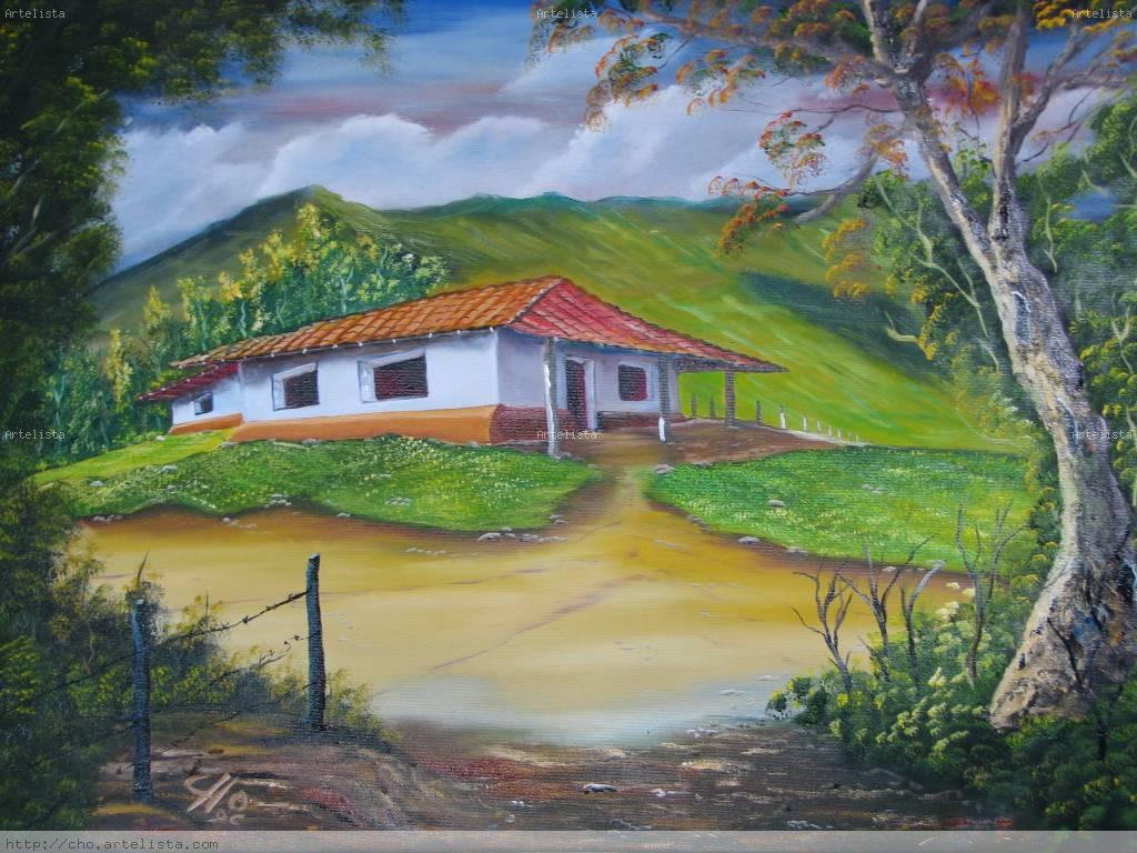 Casa de zona rural de costa rica luis roberto hern ndez - Paisajes de casas de campo ...