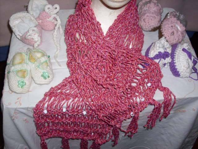 Como hacer bufandas modernas tejidas a mano - Imagui