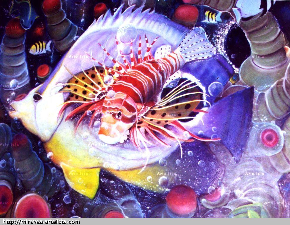 Peces jon eduardo for Cuadros de peces