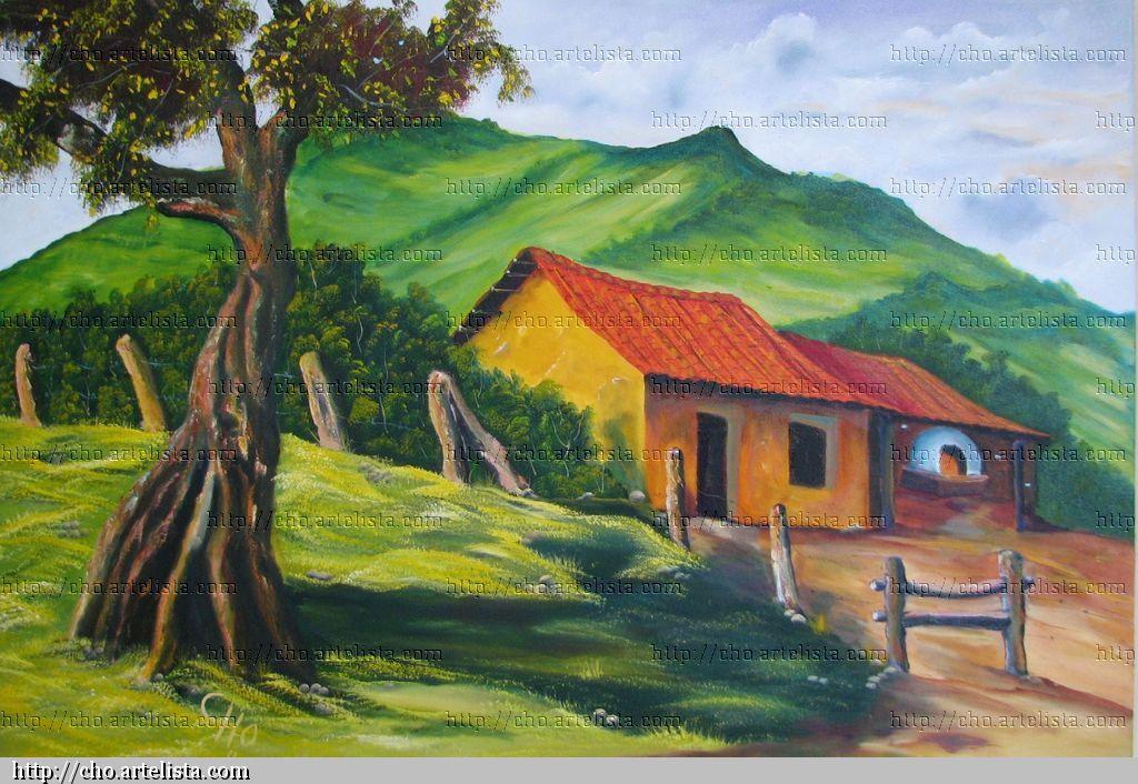 La casa del horno de barro luis roberto hern ndez alfaro - Paisajes de casas ...