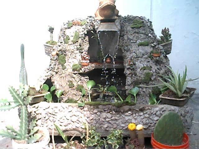 Como hacer cascadas artificiales imagui for Cascada artificial casera