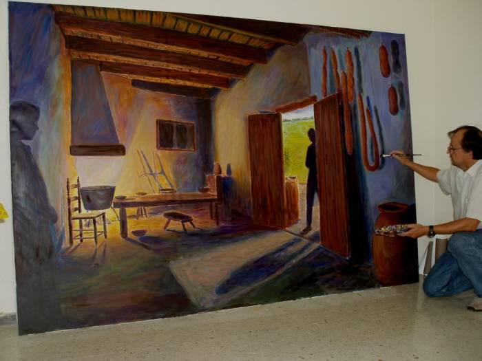 La cocina antigua jose antonio del castillo martin - Pinturas de cocina ...