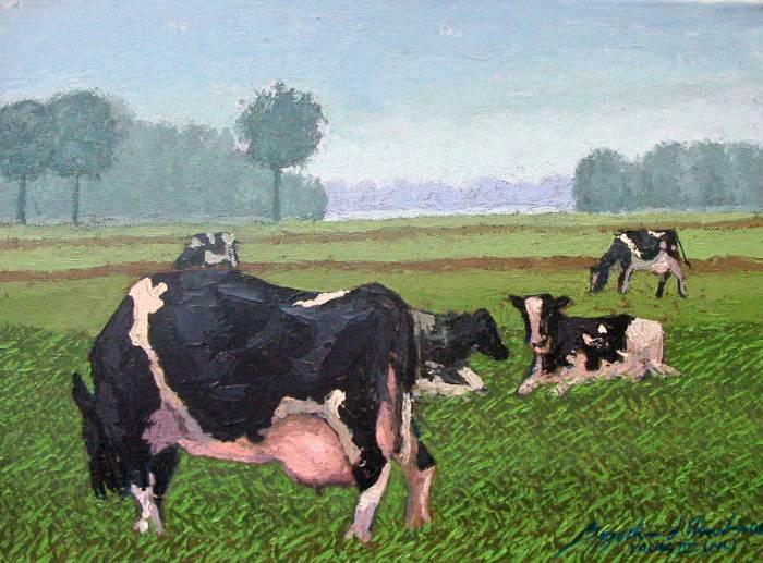 Vacas bygocha d 39 amalia - Cuadros de vacas ...