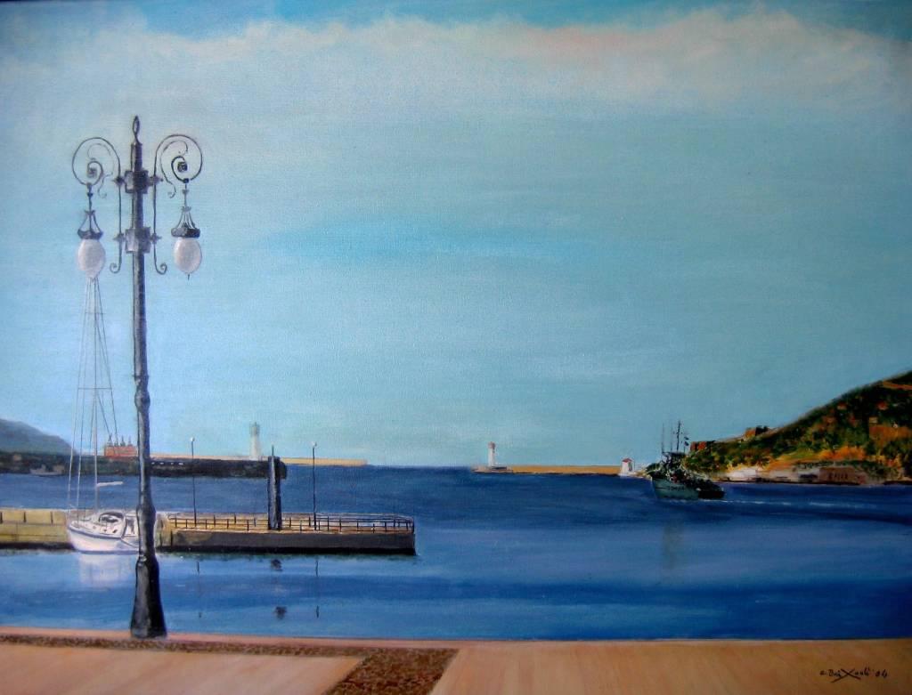 Puerto de cartagena angel baixauli montejano - Pintores en cartagena ...