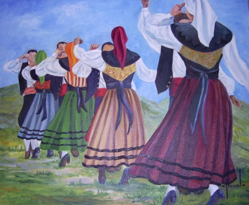 Danza asturiana rosa maria noval - Pintores en asturias ...