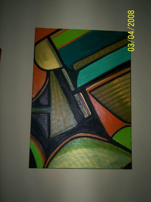 Cuadros abstractos con figuras geometricas imagui for Imagenes de cuadros abstractos faciles