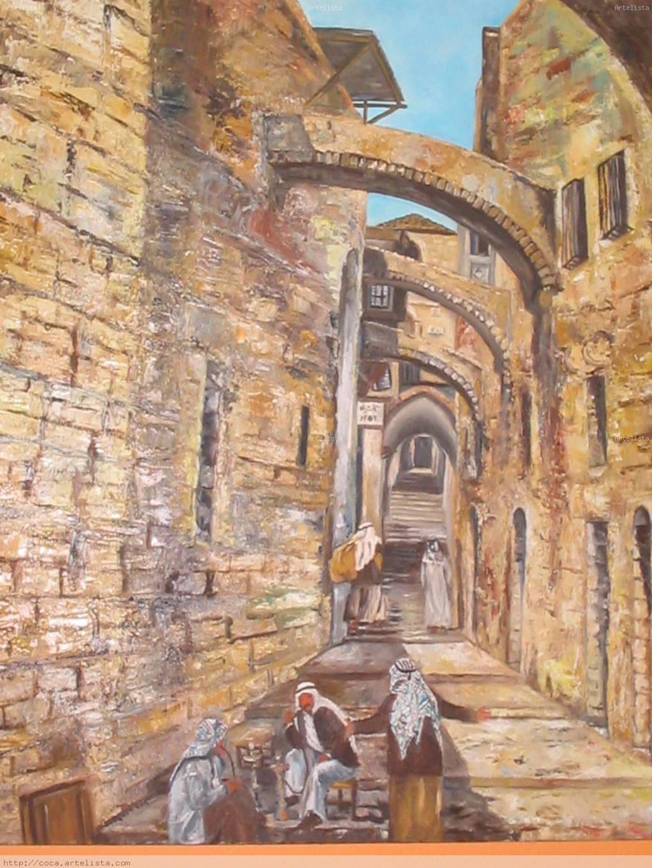 Ciudad vieja de Jerusalén Coca Schwarze Torres - Artelista.com