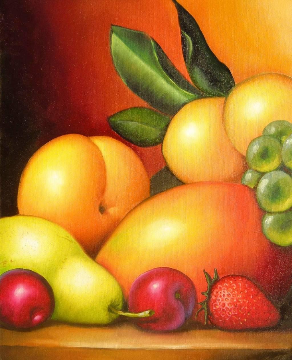 Frutas coloridas paraguay arte en - Fotos de bodegones de frutas ...