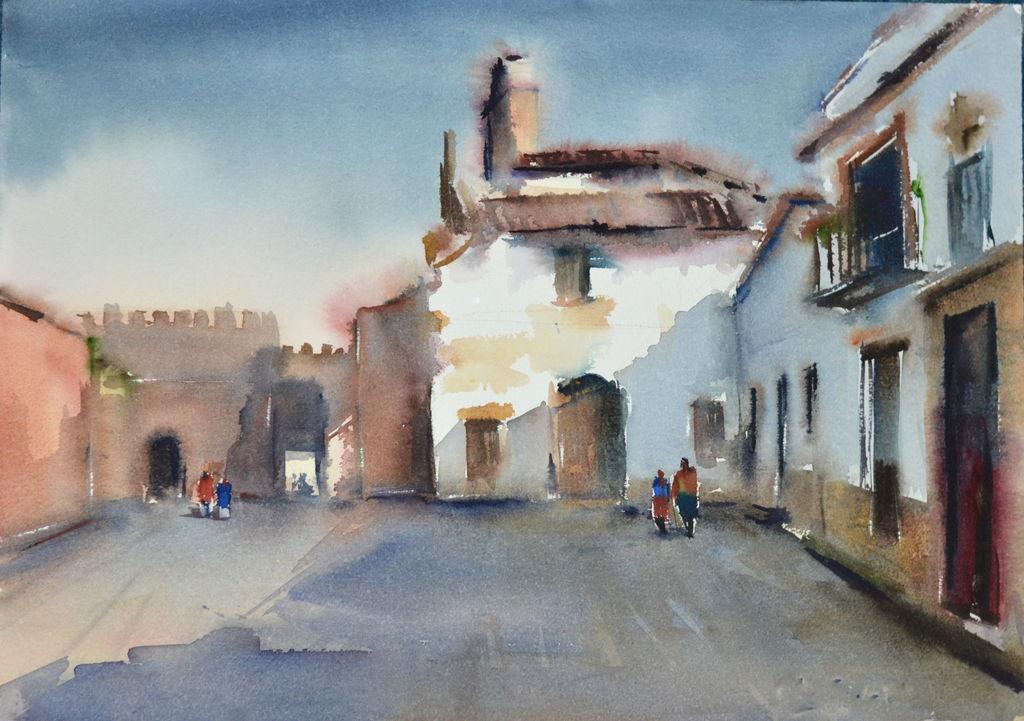 Ciudad de Niebla Enrique López Suárez - ELOSU - Artelista.com