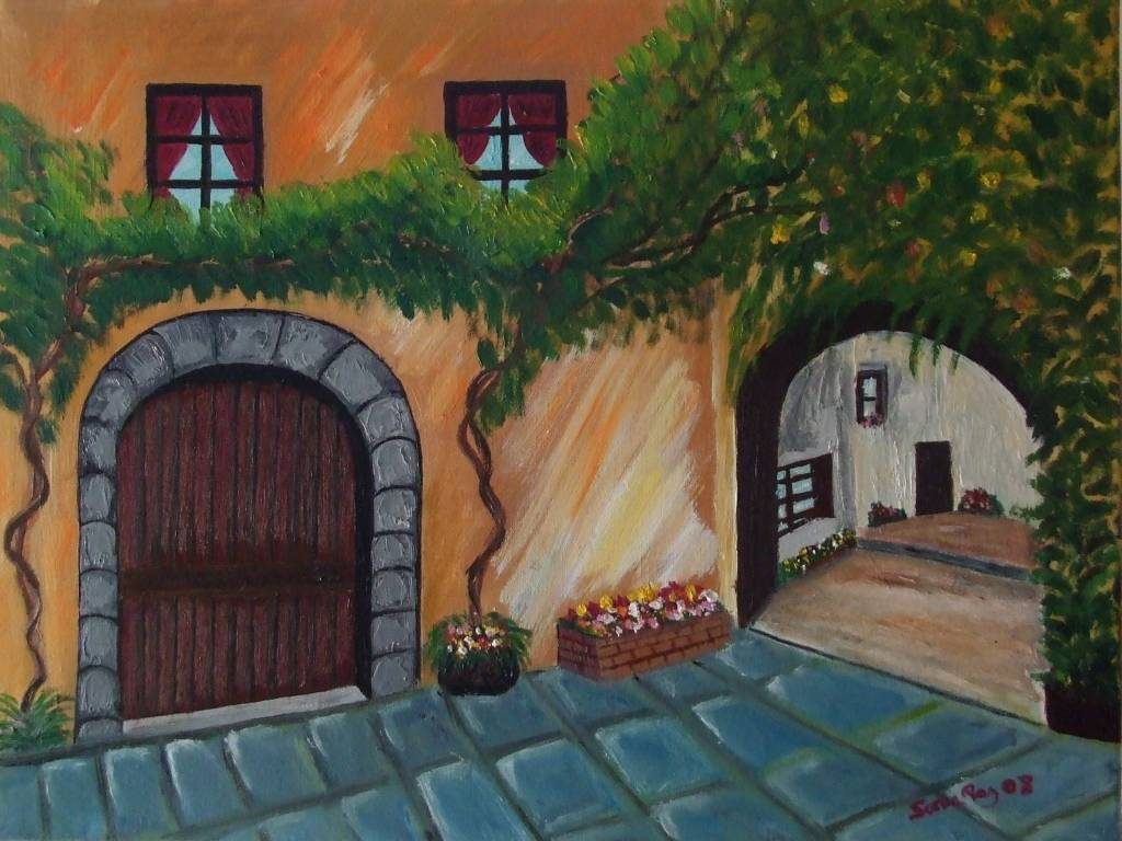 Casa andaluza sonia paz for Casa andaluza