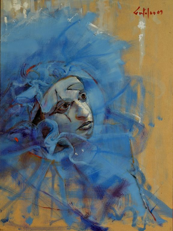 La Mascara Veneciana. Marco Ortolan - Artelista.com