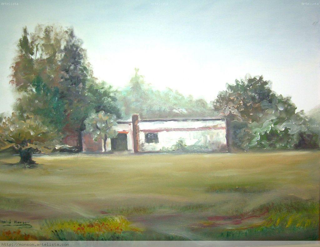 Casa de campo marilu monson for Pinturas para casas de campo