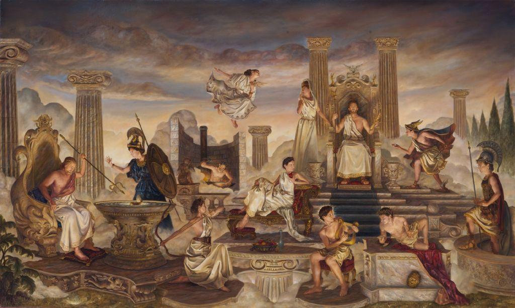 Mount Olympus of Greek Mythology