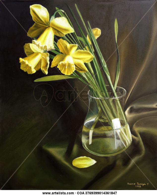 Narcisos Amarillos Bruno Zuniga Jaramillo Artelistacom - Narcisos-amarillos