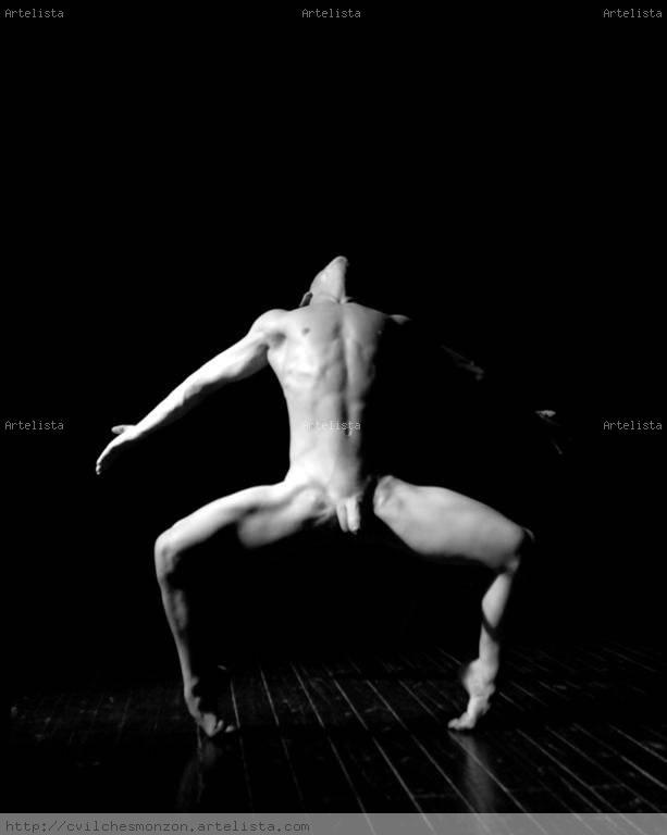Desnudo retrato blanco y negro