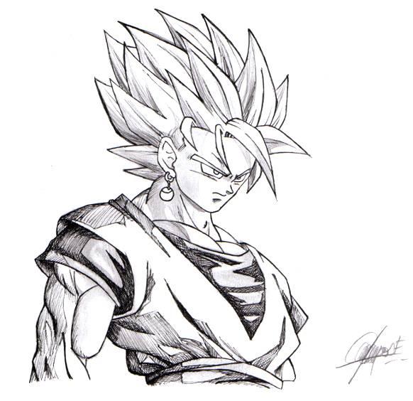 Dibujos para pintar de goku super saiyan 5 - Imagui