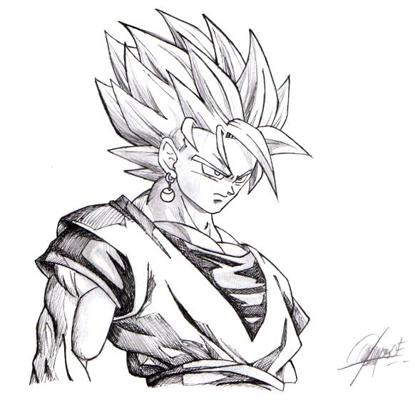 Goku Super Saiyan JC CF- Artelista.