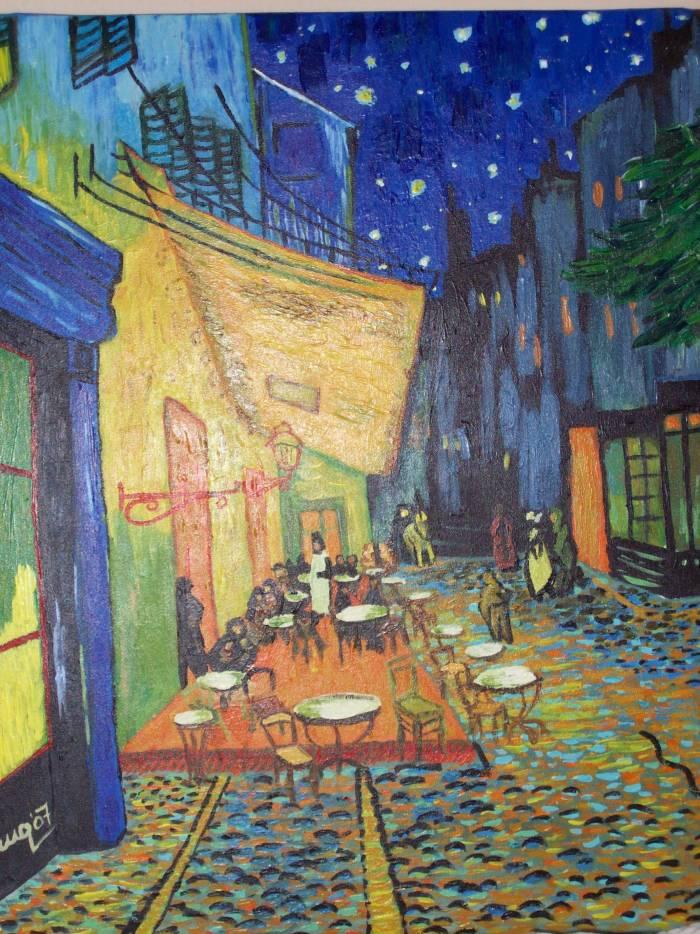 Terraza De Café Por La Noche Van Gogh Marta Moreno