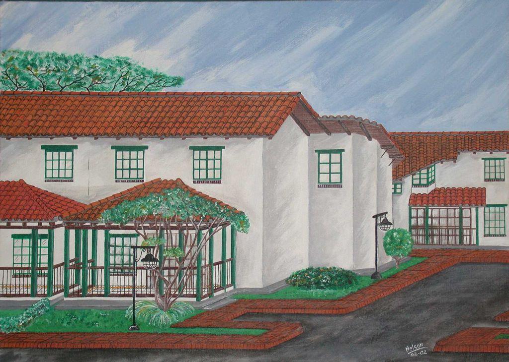 Casas coloniales nelson medina l pez - Pintura para tejas ...