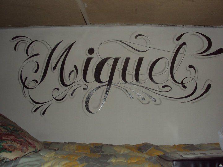 Graffiti de nombres miguel - Imagui