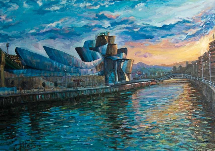 Guggenheim bilbao carmelo lite jimenez - Pintores en bilbao ...