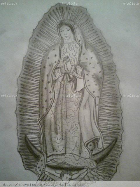 LA VIRGEN DE GUADALUPE Blanqa Lizzy RB - Artelista.com - en