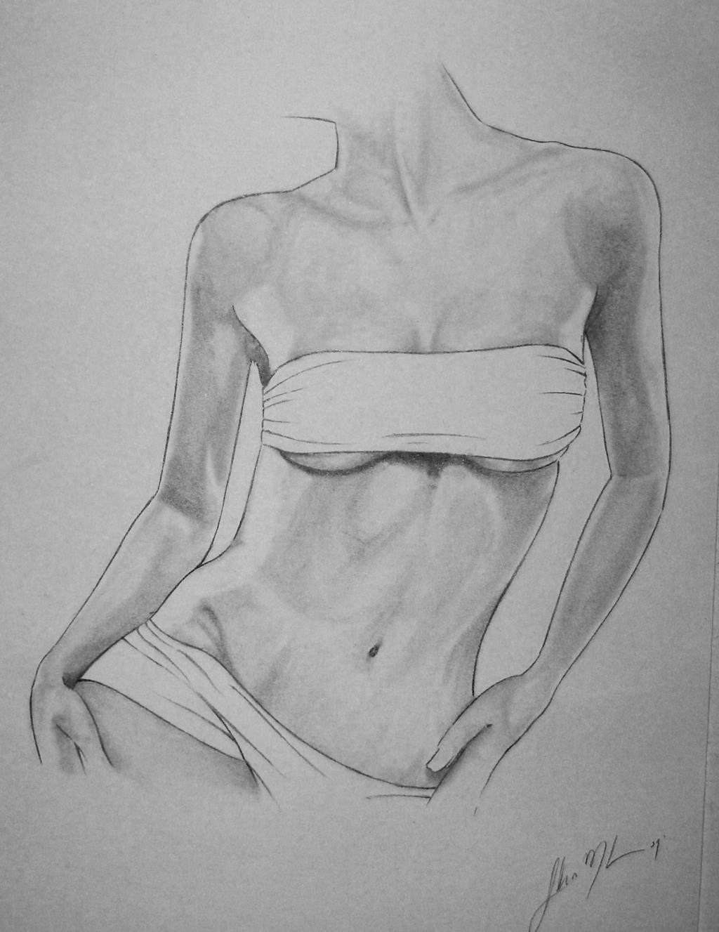 cuerpo femenino-estudio de sombras Federico Mederos Spangenberg ...