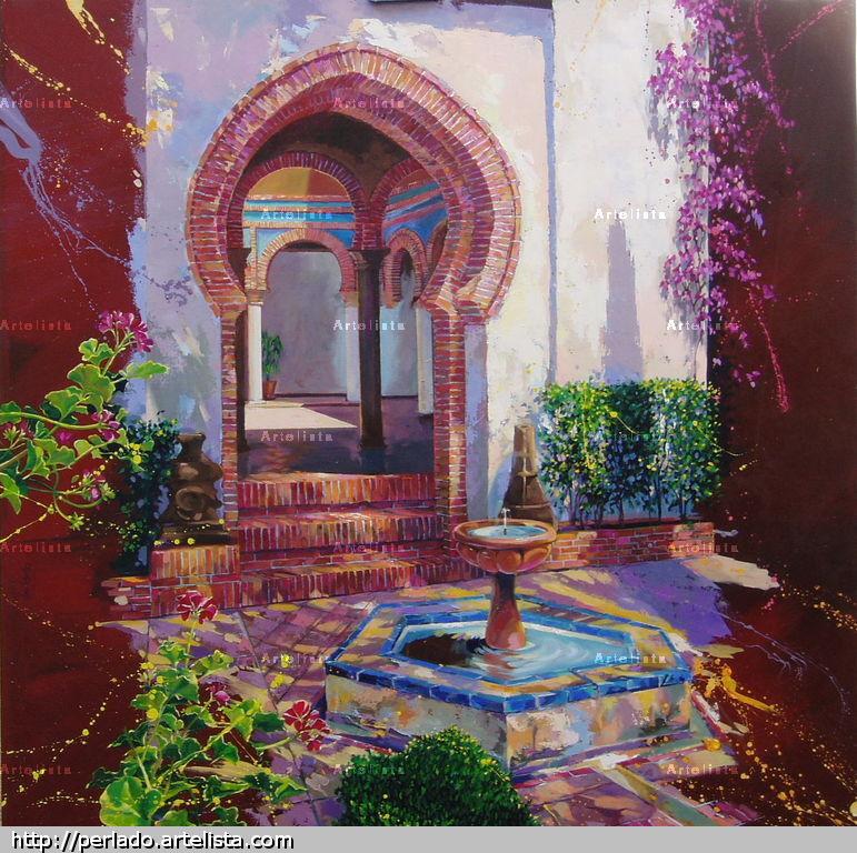 RONDA -El patio, casa árabe, España J. Enrique Gómez Perlado ...