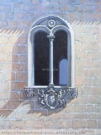 Ventana Del Palacio De San Esteban Murcia Antonio Pozo Espallardo