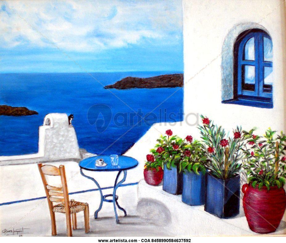 Casas griegas perfect best casas griegas images on for Casas en islas griegas