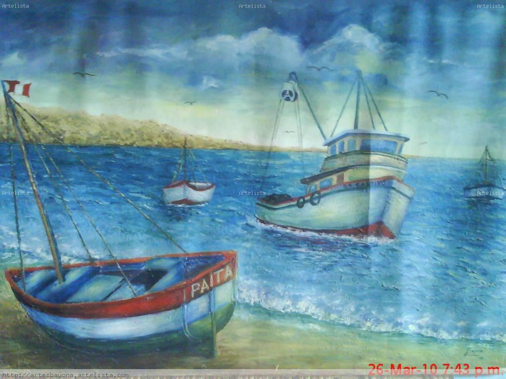 Paisaje marino gonzalo bayona bayona for Pinterest obras de arte