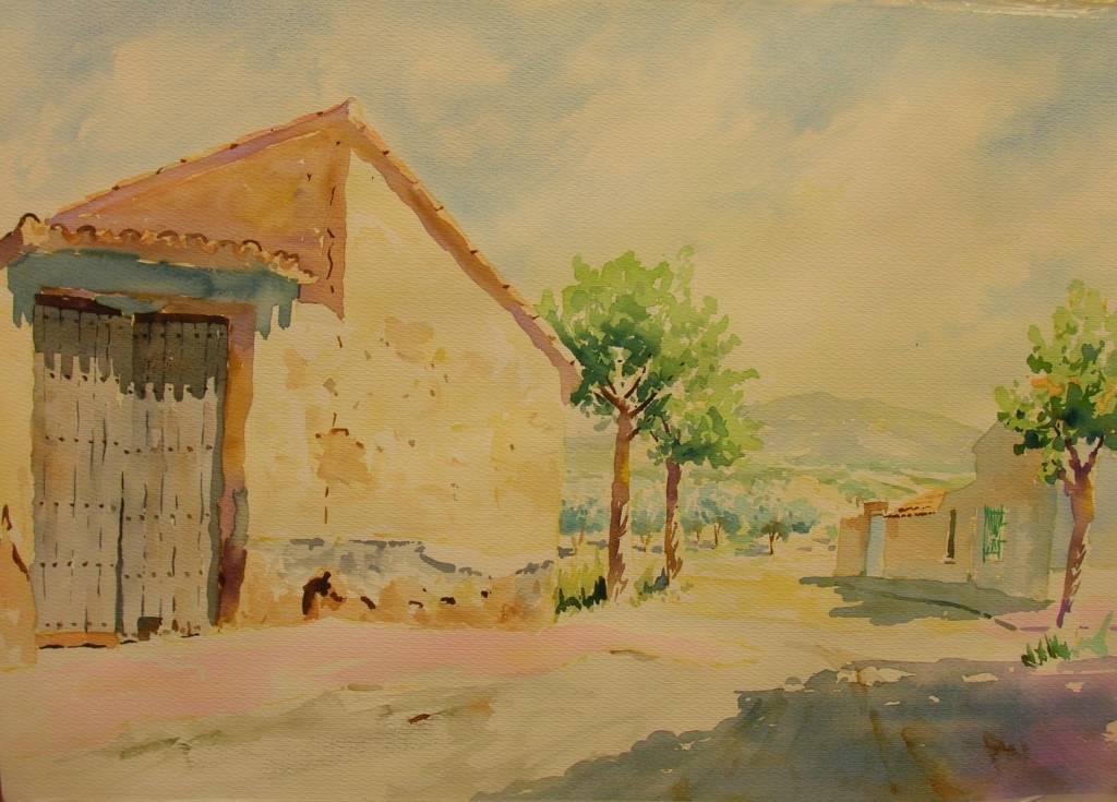 Casas del campo de cartagena luis gonzalez martinez - Pintores en cartagena ...