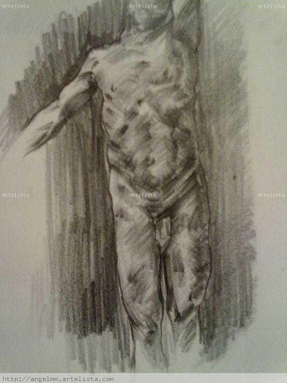 Estudio del cuerpo humano Angel Moreno Martinez - Artelista.com