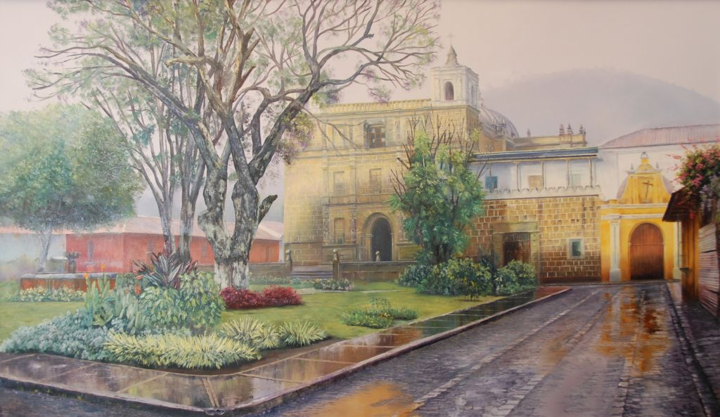 Arte Colonial Guatemalteco Pintura Escultura