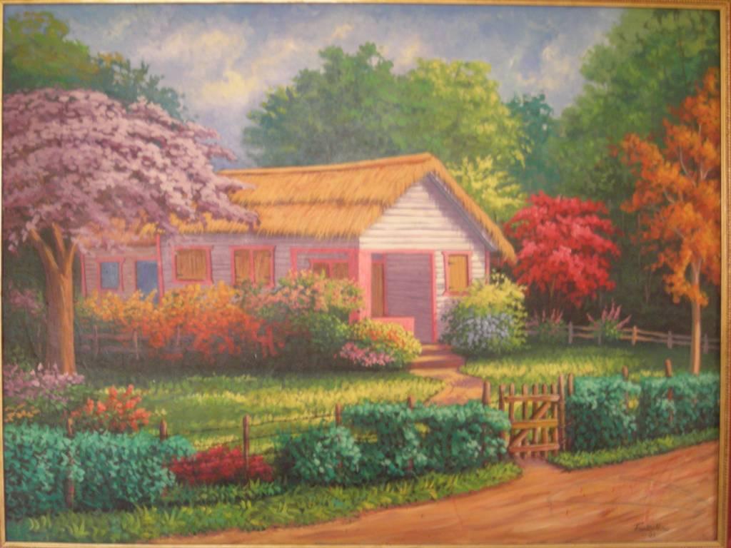 Casa de campo franklin nunez diaz - Paisajes de casas de campo ...