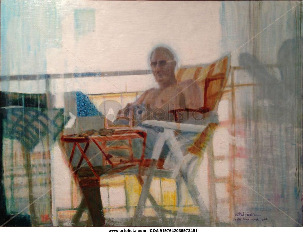 Cortinas, y visillos,paisaje,retratos,cuadro,pintura oleo,lienzo ...