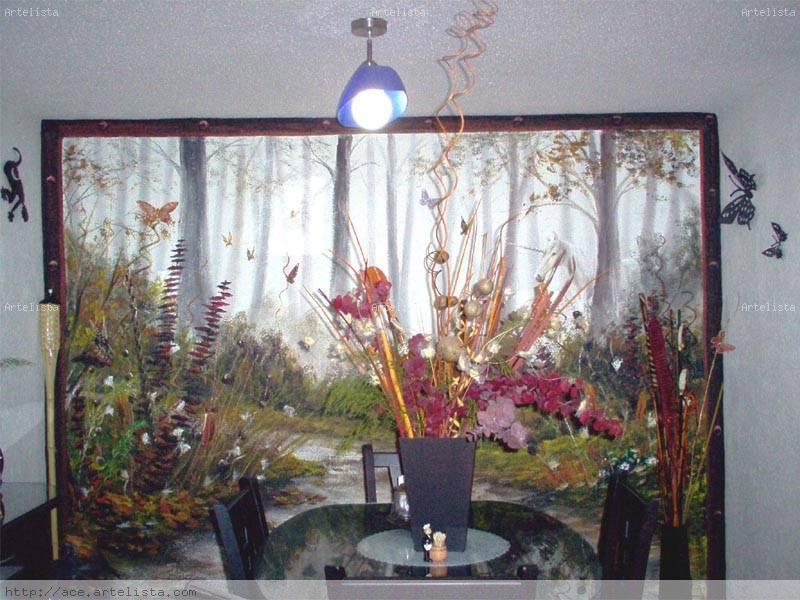Murales decorativos gustavo vilchis lopez for Murales decorativos