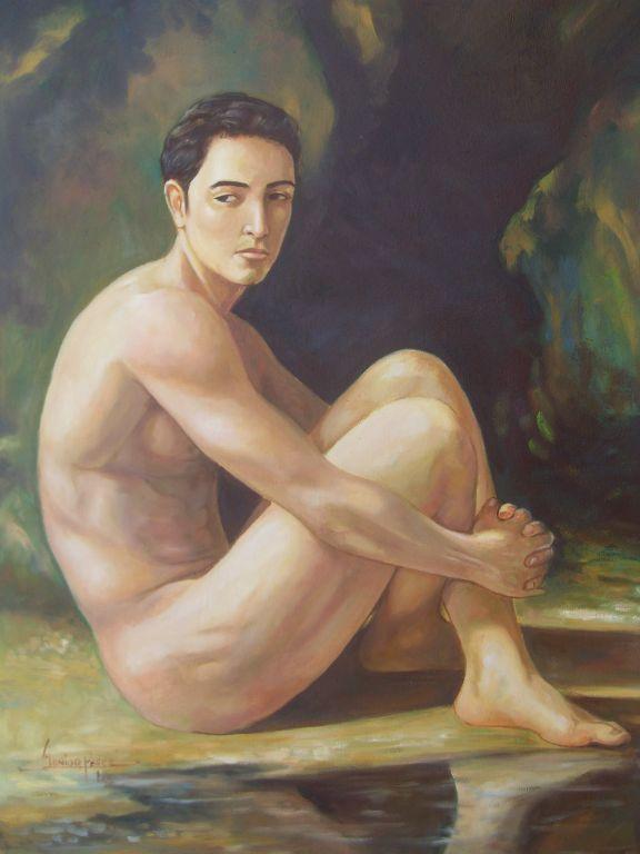 Faq masculino desnudo yoga