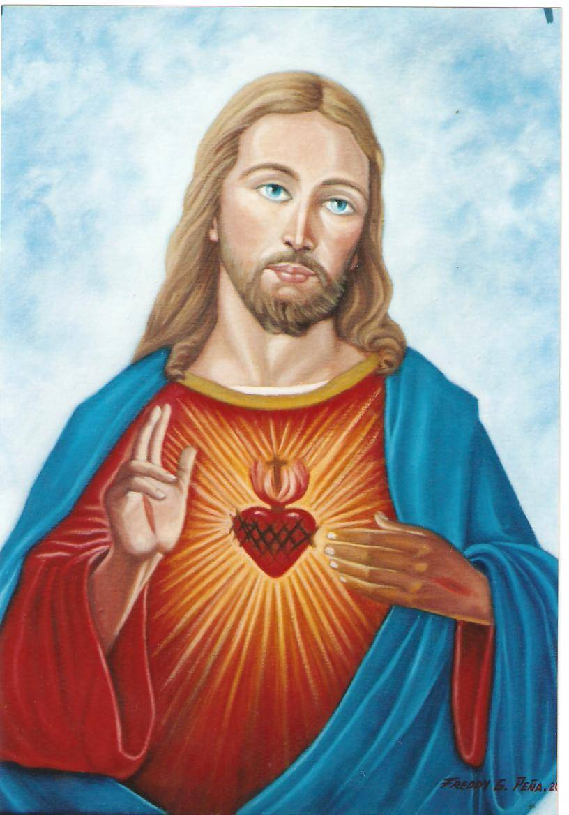 SAGRADO CORAZON DE JESUS. ING. FREDDY G. PEÑA - Artelista.com 3c8b267bbb4