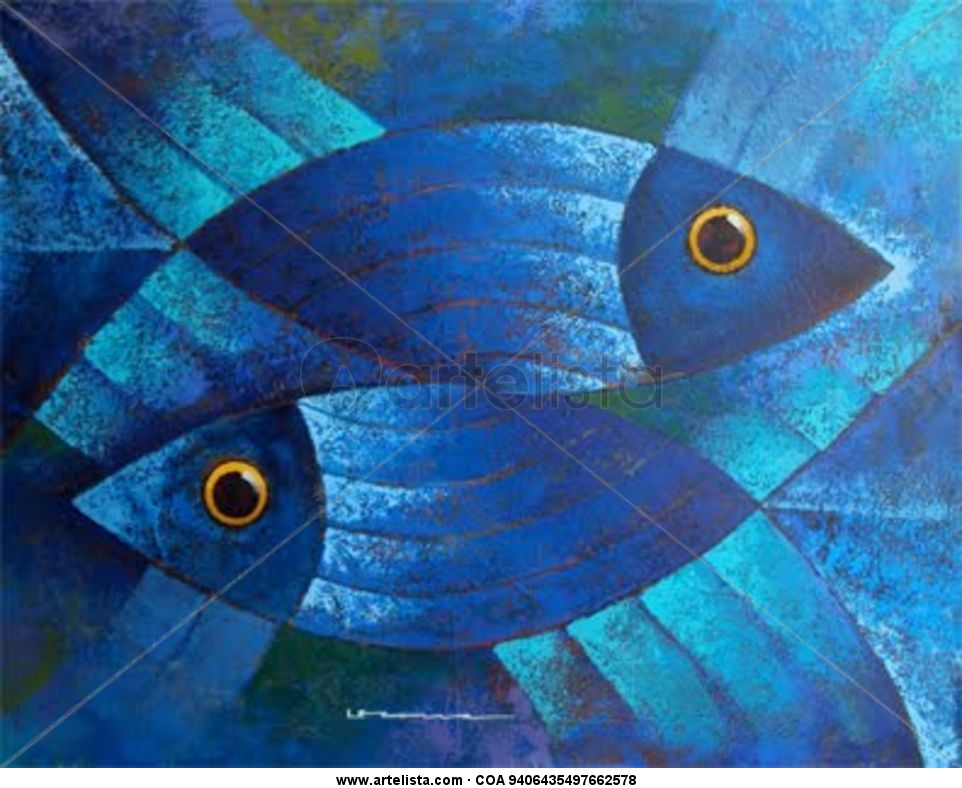 Serie peces luis leonardo letona gonzalez for Pinterest obras de arte
