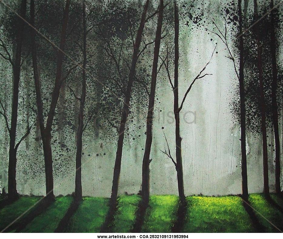 arboles altos, high trees