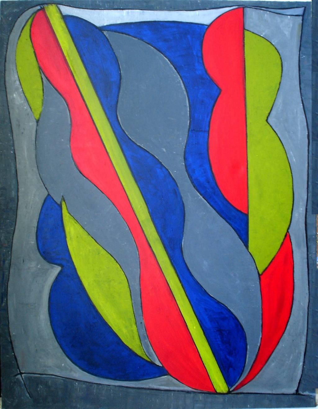Abstracto minimalista alejandro conde l pez for Fotos de cuadros abstractos minimalistas