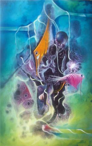 Coleccionista de especies - Junior Reyes Ocre