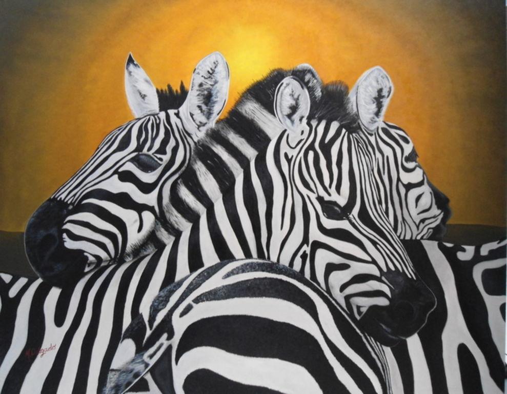 Cebras miriam delgado pajares - Cuadros de cebras ...