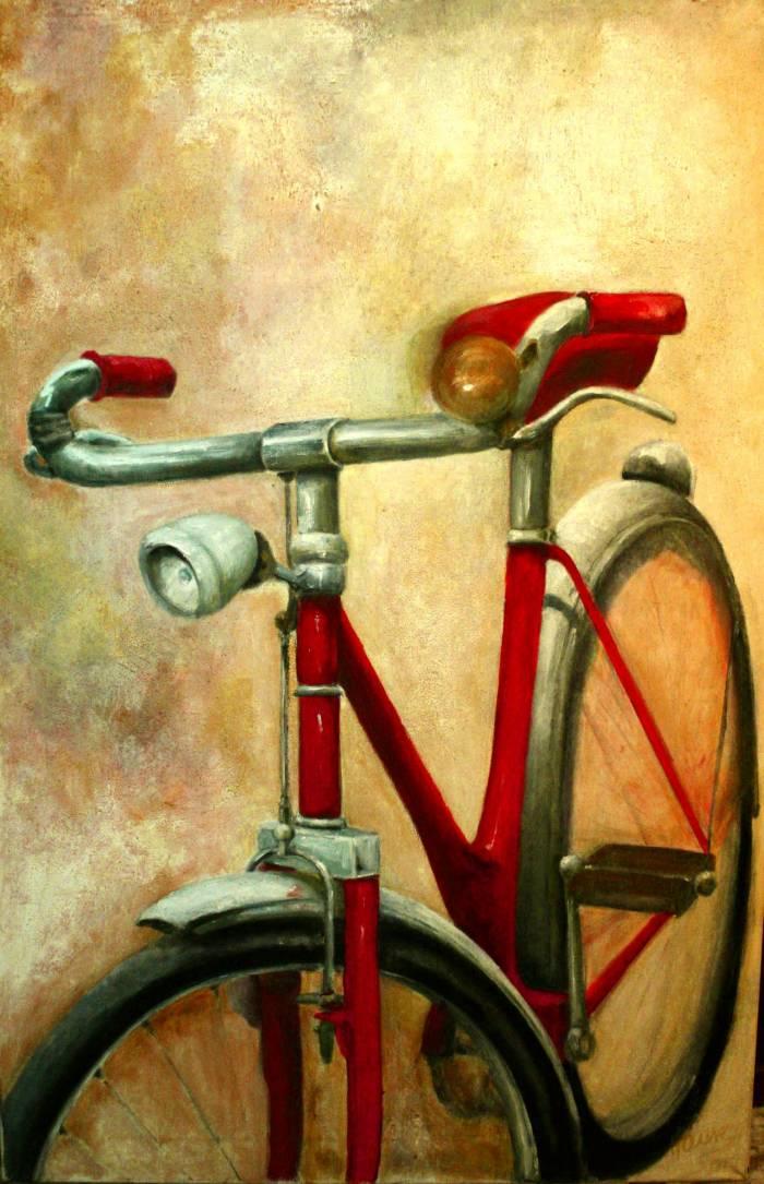La bicicleta de Natalia Tomás TAURE ALONSO - Artelista.com