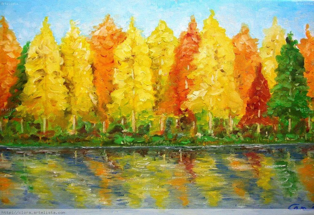 Cuadros de paisajes faciles para pintar al oleo pintados - Fotografias para pintar cuadros ...