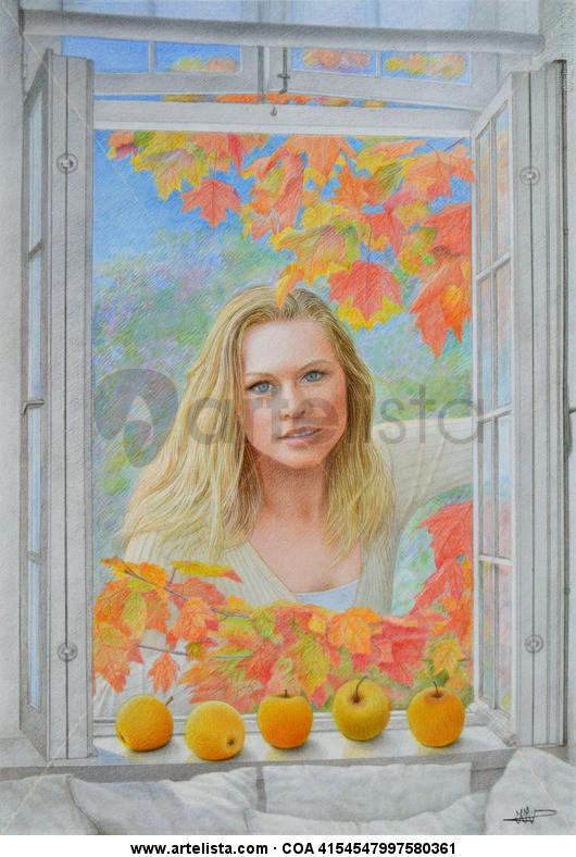 ventana en otoño 1