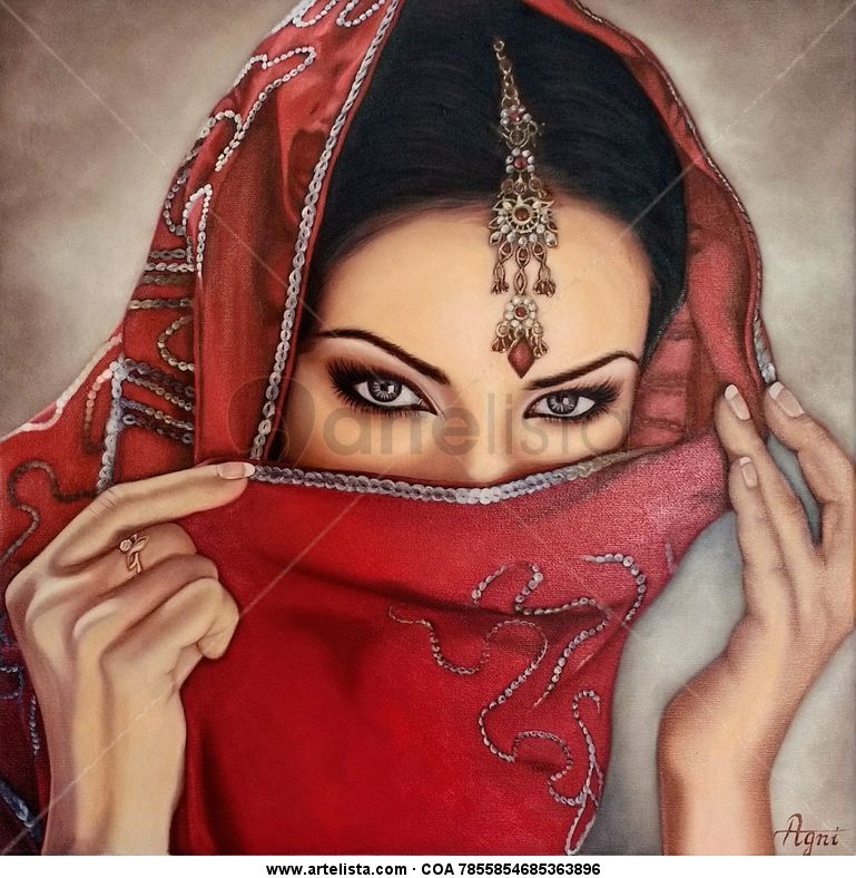 Mysterious woman Agni Art - Artelista com