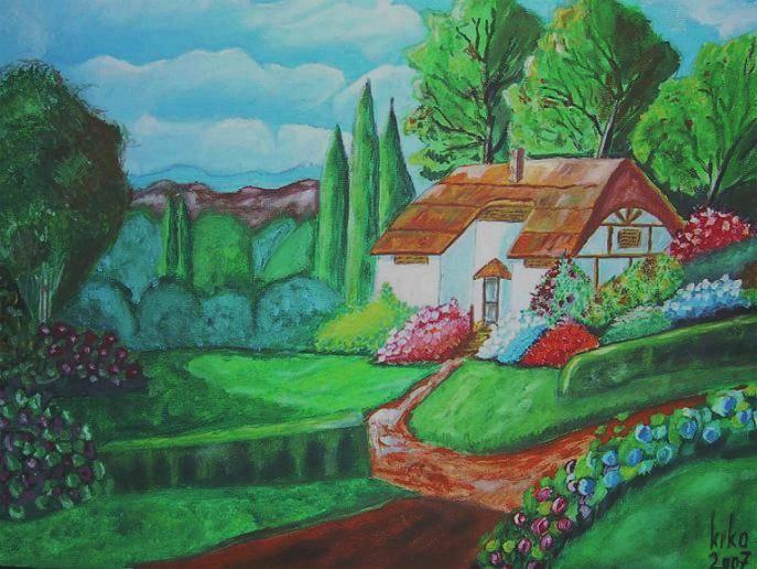 Casa de campo inglesa francisco sances gonzalez for Pinturas para casas de campo