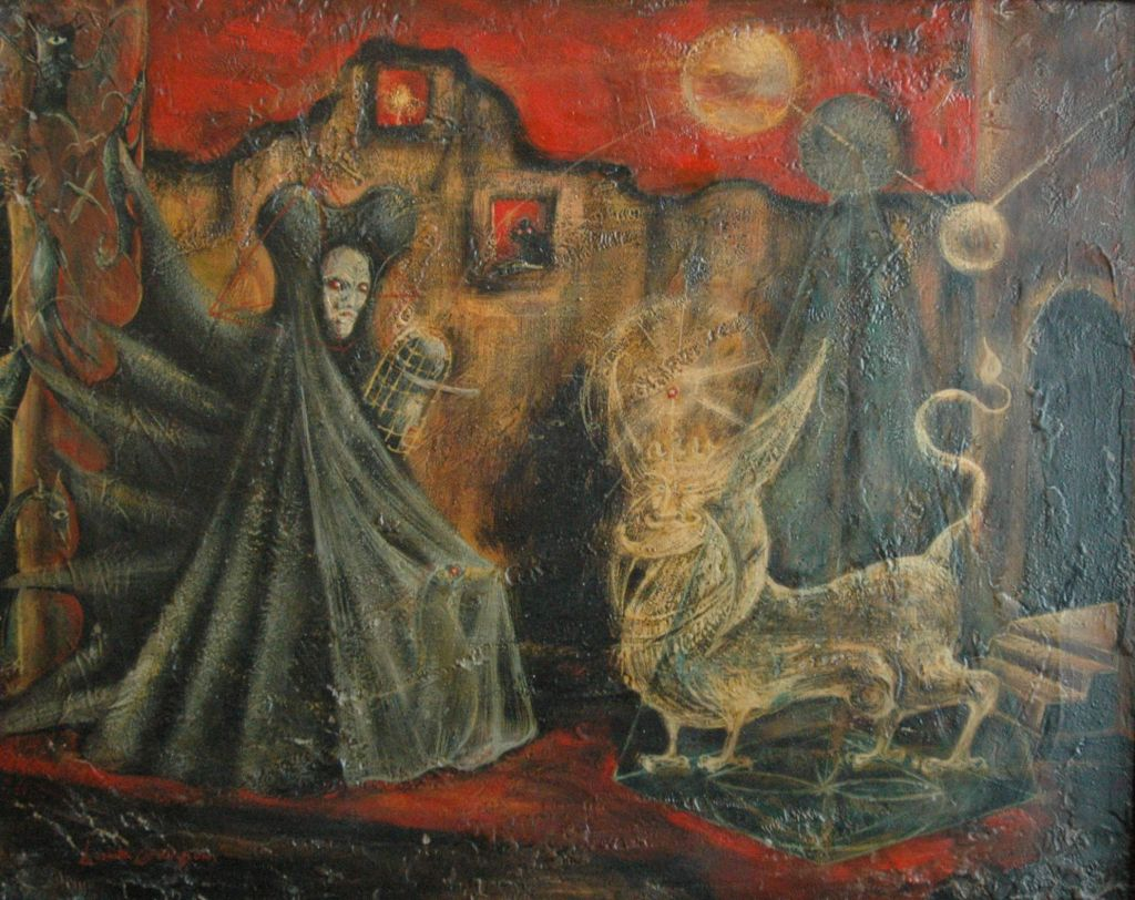 Leonora carrington leonora carrington en for Airbrushing mural